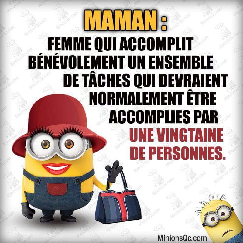 Minions maman dr le pinterest maman citation et dr le - Les minions bonne annee ...