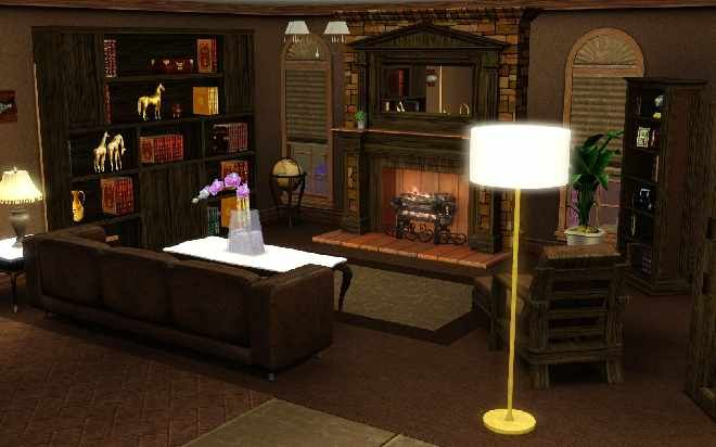 The Sims 3 Home Building and Design | Sims | Pinterest | Sims and Room