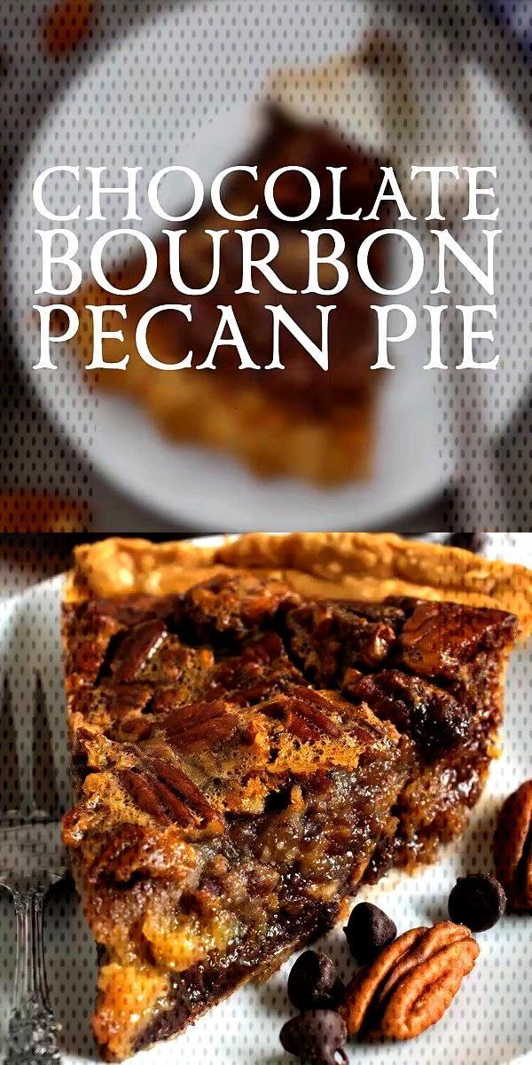 Chocolate Bourbon Pecan Pie recipes Chocolate Bourbon Pecan Pie
