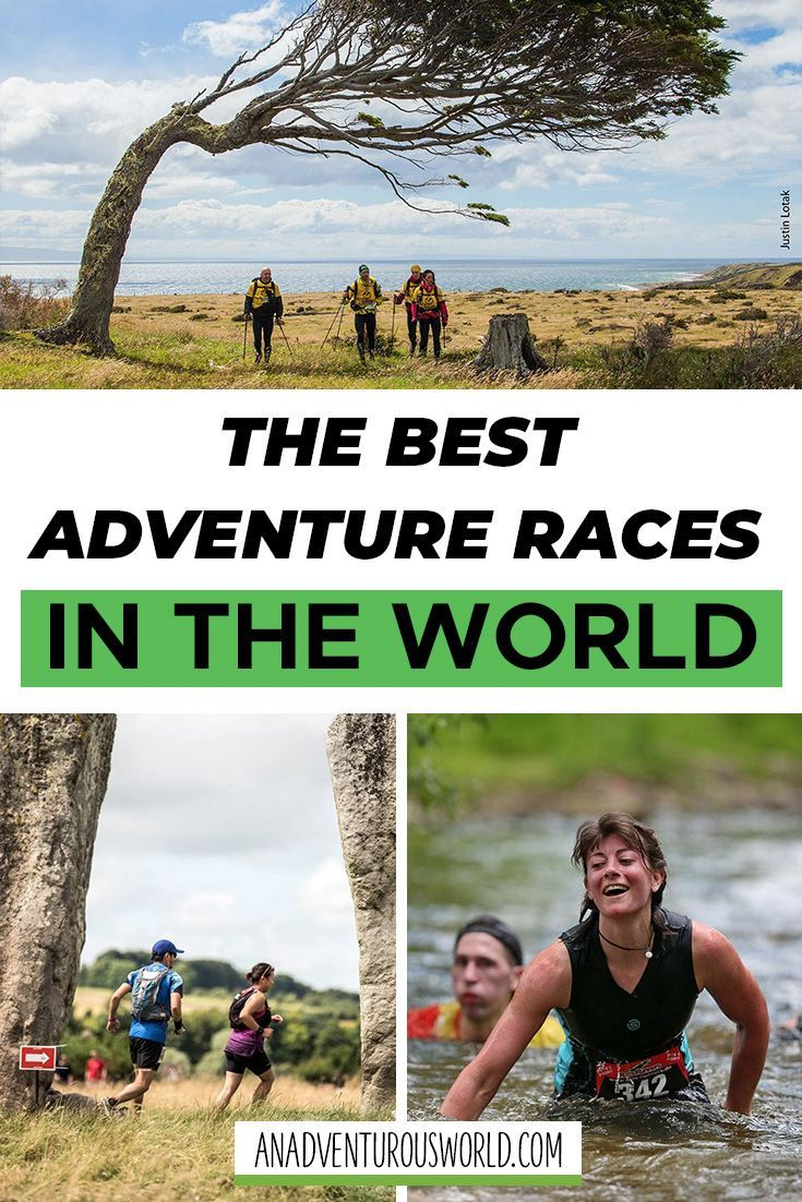 The BEST Adventure Races in the World