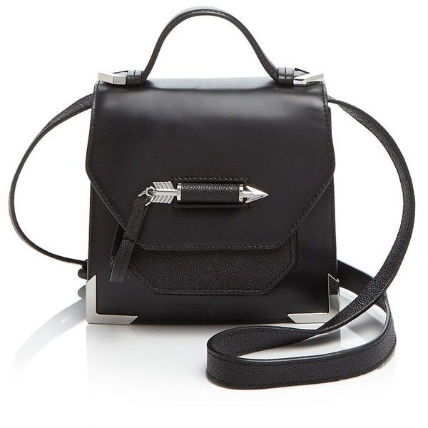 Mackage Crossbody - Rubie Boxy ($340) ❤ liked on Polyvore featuring bags, handbags, shoulder bags, crossbody shoulder bags, structured purse, top handle purse, crossbody handbag and structured handbags
