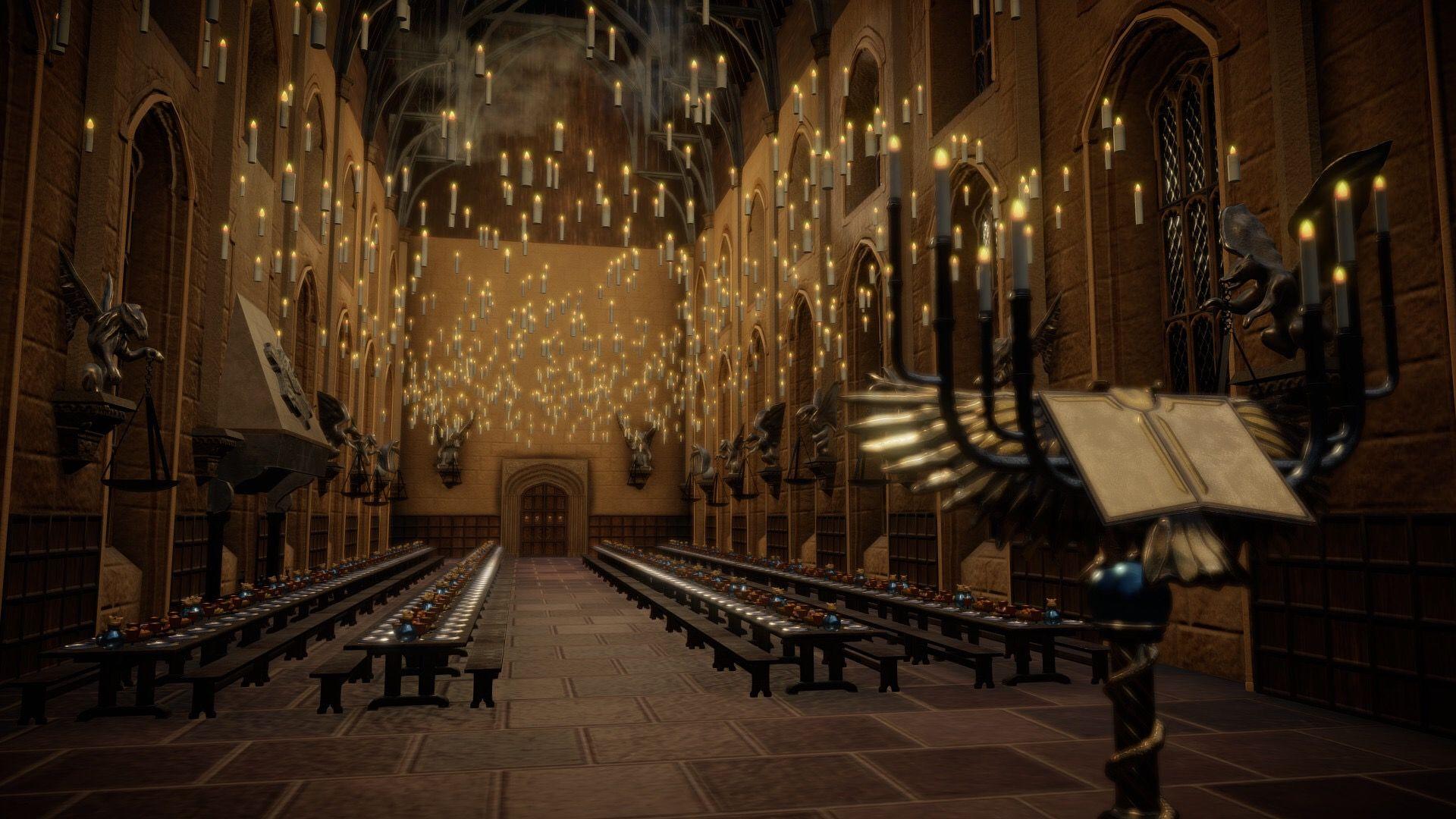 Pin Von Claudia B Auf Harry Potter Hogwarts Grosse Halle Hogwarts Halle