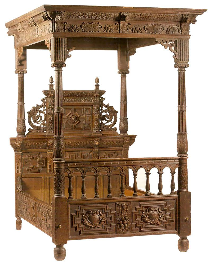 Explore Victorian Furniture, French Furniture, And More! Luxury Rococo Four  Poster Bed   Google Search