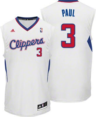 92e4c9f485d6 Chris Paul Jersey  adidas Revolution 30 White Los Angeles Clippers Jersey