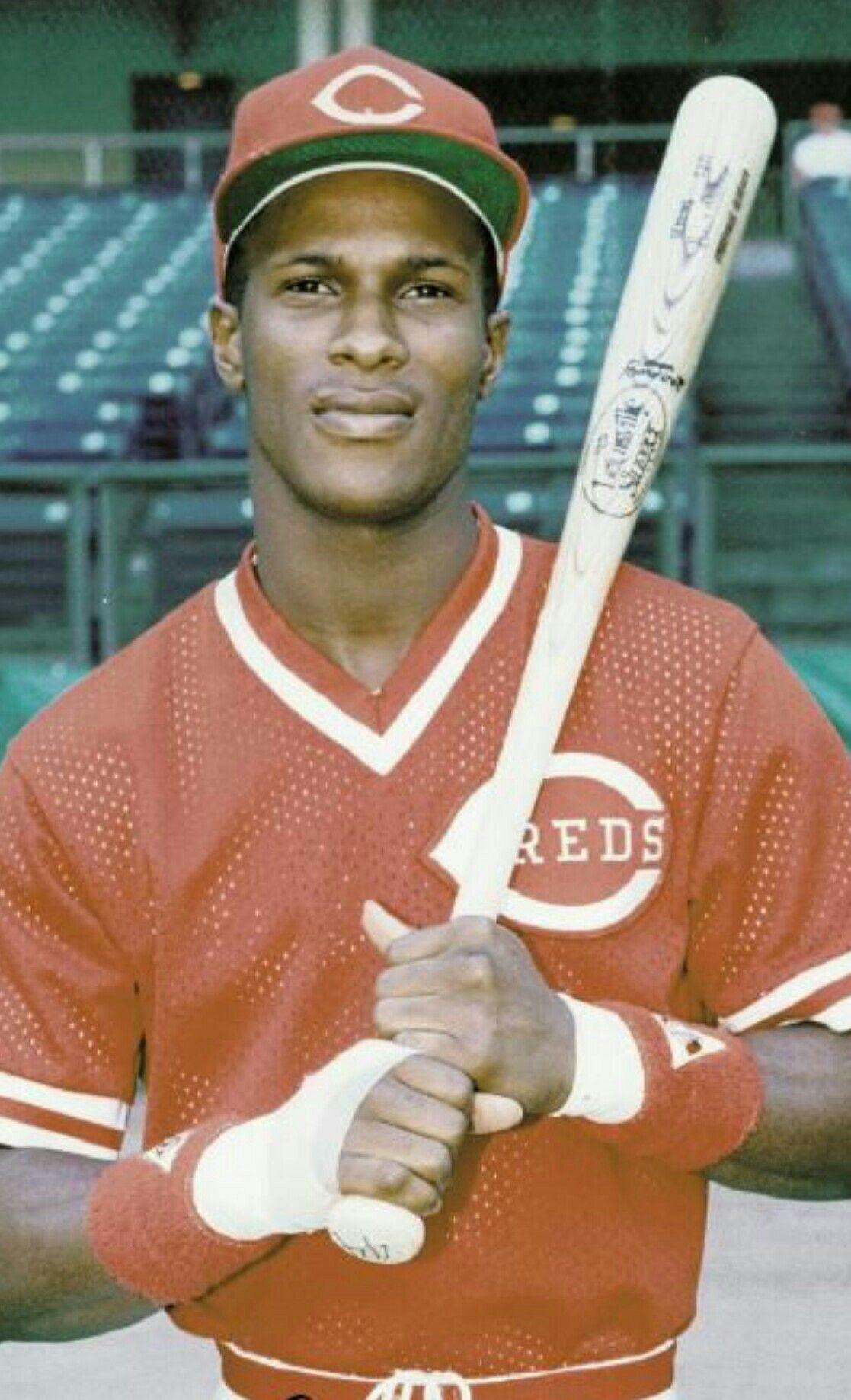 detailed look 32d2e 11168 ERIC DAVIS | Sports figures | Cincinnati reds baseball ...