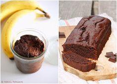 Patce's Patisserie: Supersaftiger und superschokoladiger Schoko-Bananen-Brownie-Kuchen! Auch in vegan! [Alles im Kasten oder zu tief ins Glas geschaut?]