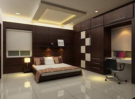Bedroom Interior Design Ideas Wardrobe Designs For Bedroom #wardrobe #kumarinterior #thane
