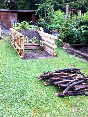 hochbeete aus paletten anleitung garten pinterest garden beds garden und vegetable garden. Black Bedroom Furniture Sets. Home Design Ideas