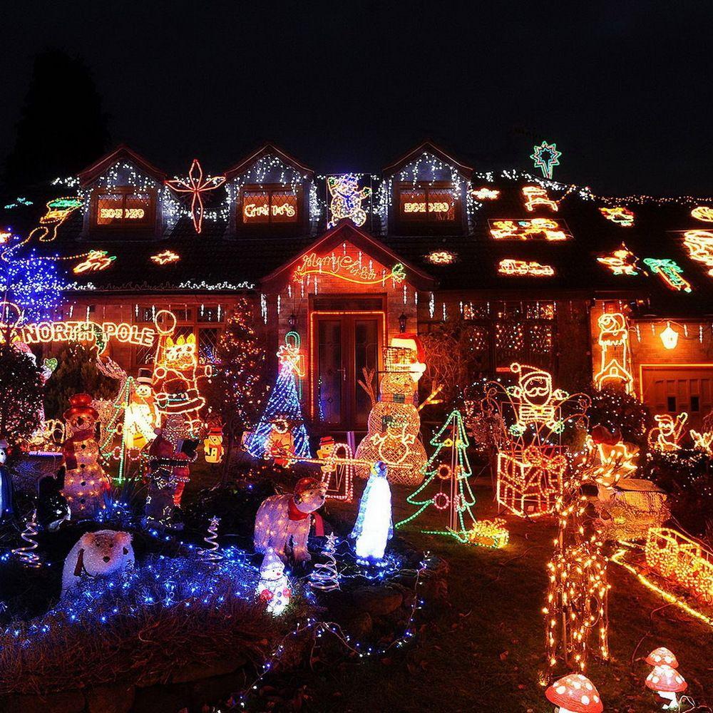 Gorgeous Christmas Lights Display Christmas House Lights