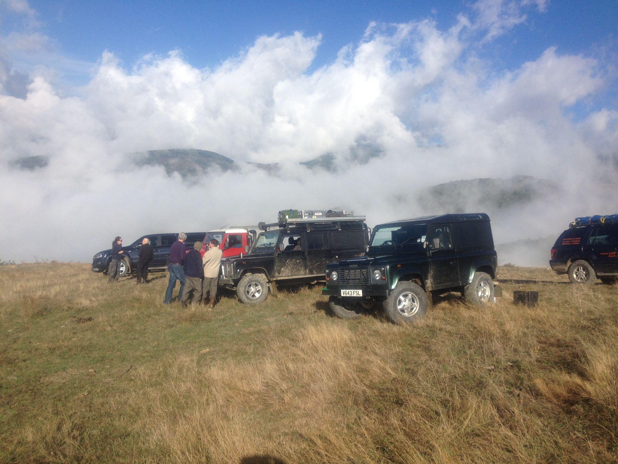 Tea break, heading into Andorra