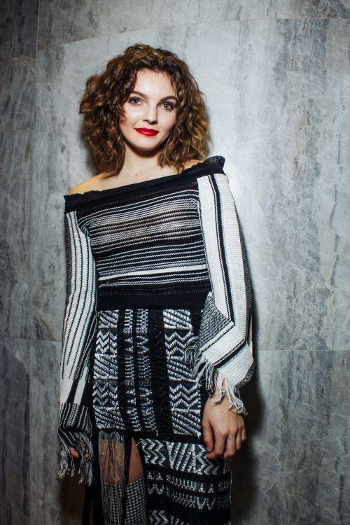 Camren Bicondova - #NYFW  Photo: Felipe Espinal Top & Skirt: RVN nyc Stylist: Andrew Gelwicks Makeup: Janice Kinjo