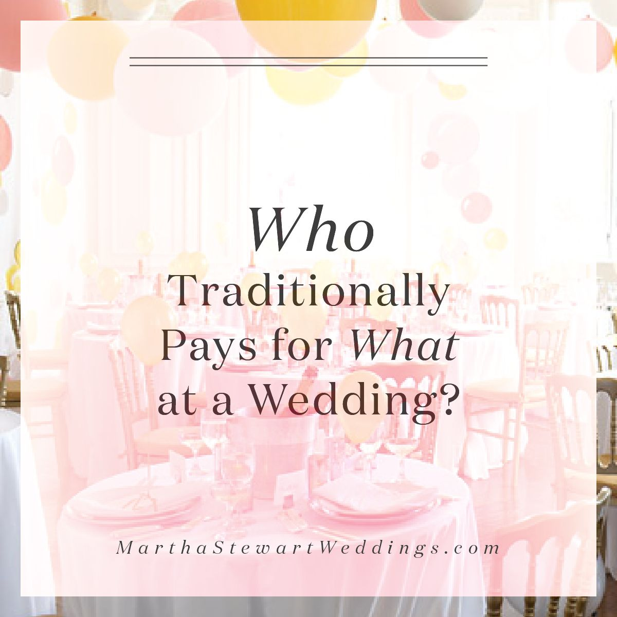 Wedding Venues Near Me Cheap: Find Out Who Pays For What At A Wedding