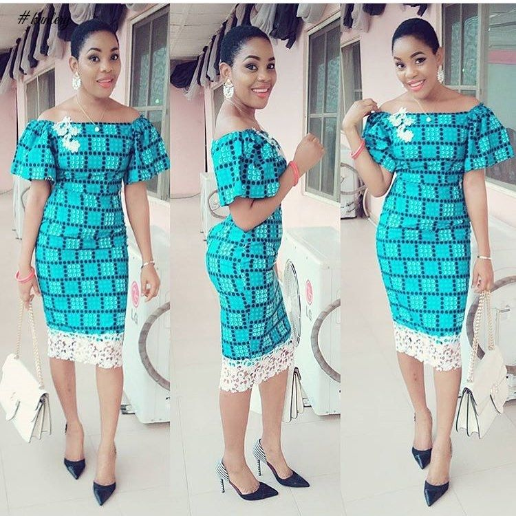 BEAUTIFUL AND CLASSY ANKARA STYLES FOR YOU