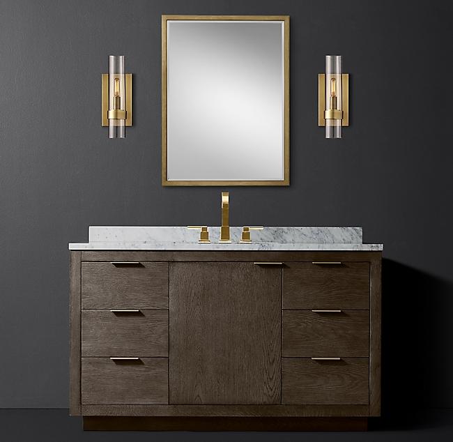 Rh New Bathroom Ideas Single Vanity Vanity