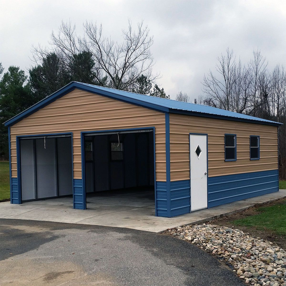 Shop Metal Carports, Sheds, and Garages Near Me Metal