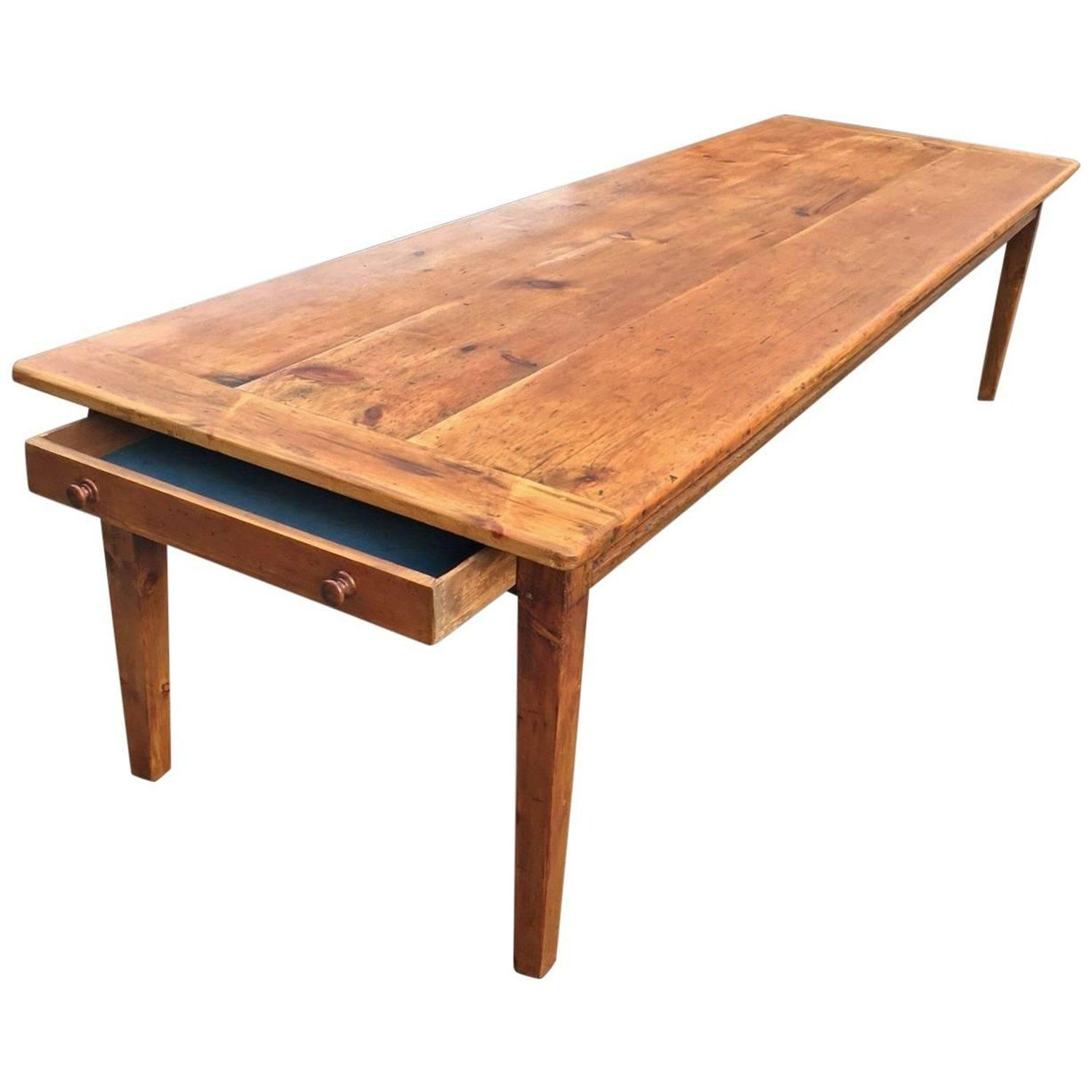 Farmhouse Table, Large English, 19th Century, circa 1830