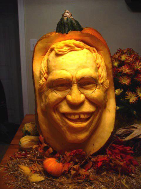 Realistic 3d Pumpkin Carvings By Food Sculptor Ray Villafane Pumpkin Carving 3d Pumpkin Carving Halloween Pumpkins Carvings