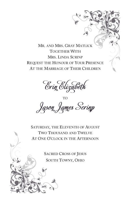 Pin By Cassie VanNest On Wedding Invitations