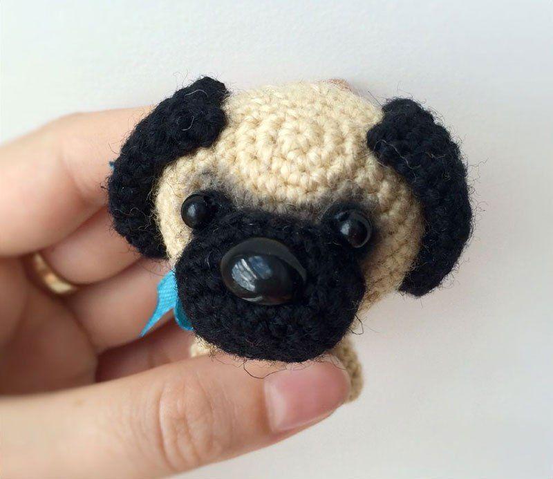 Baby Pug Dog amigurumi pattern - Amigurumi Today | Baby ...