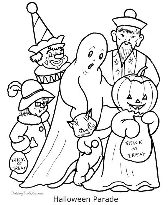 Fun And Spooky Halloween Coloring Pages Costumes Halloween Coloring Halloween Coloring Pictures Halloween Coloring Pages