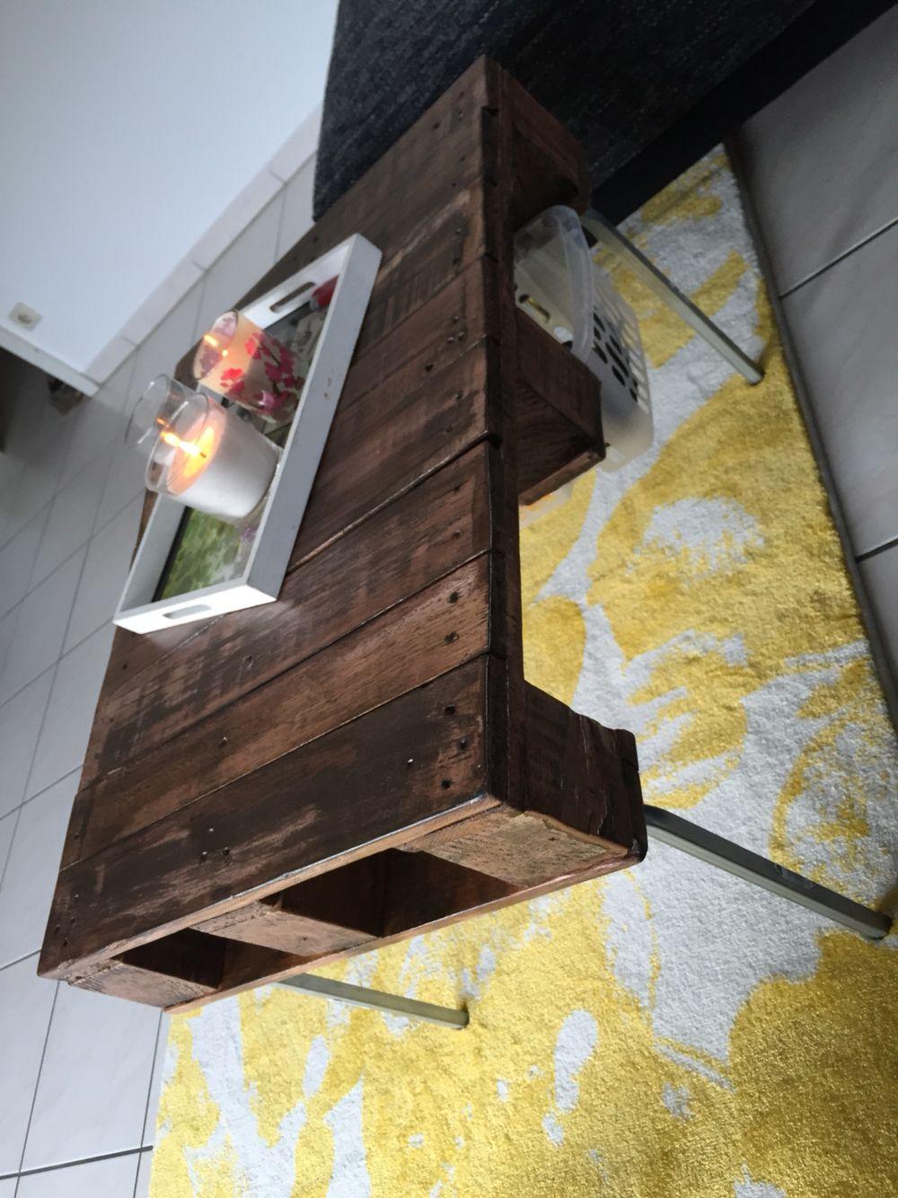 Paletten Tisch Diy Wohnzimmertisch