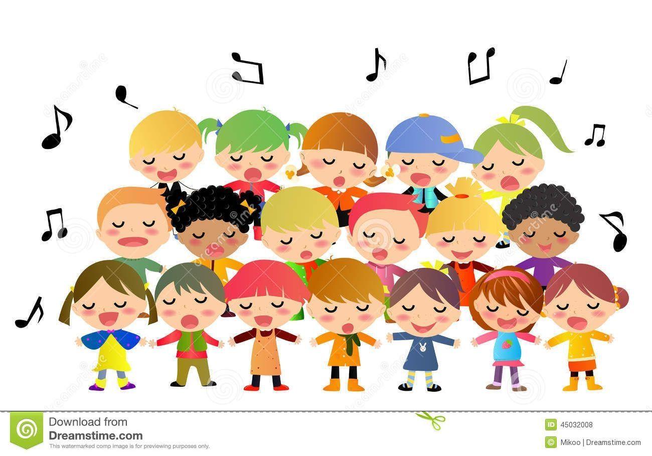 Children Singing Clipart Images In 2021 Clip Art Cartoon Clip Art Free Clip Art