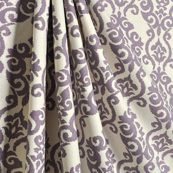 2 Beautiful Waverly Luminary Lilac Curtain Panels 25w X 84l Dusty
