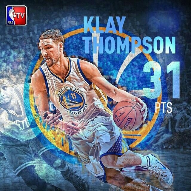 Not a bad encore for Klay Thompson, who led the Warriors to their 19th straight home win.