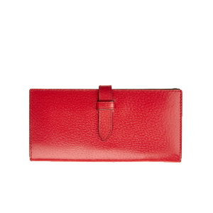 Elongated Wallet with Tab
