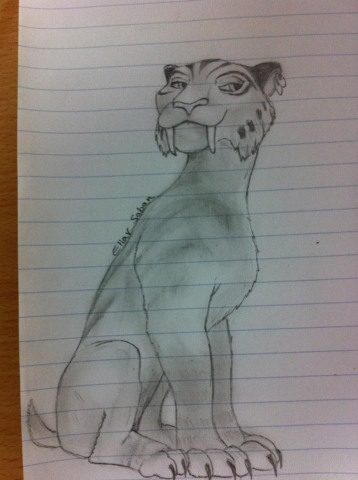 Ice Age 4 Shira My Drawings Drawings Art