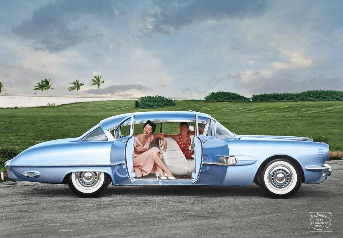 1954 Pontiac Strato Streak (concept car) | Pontiac: 1951 - 1954 ...