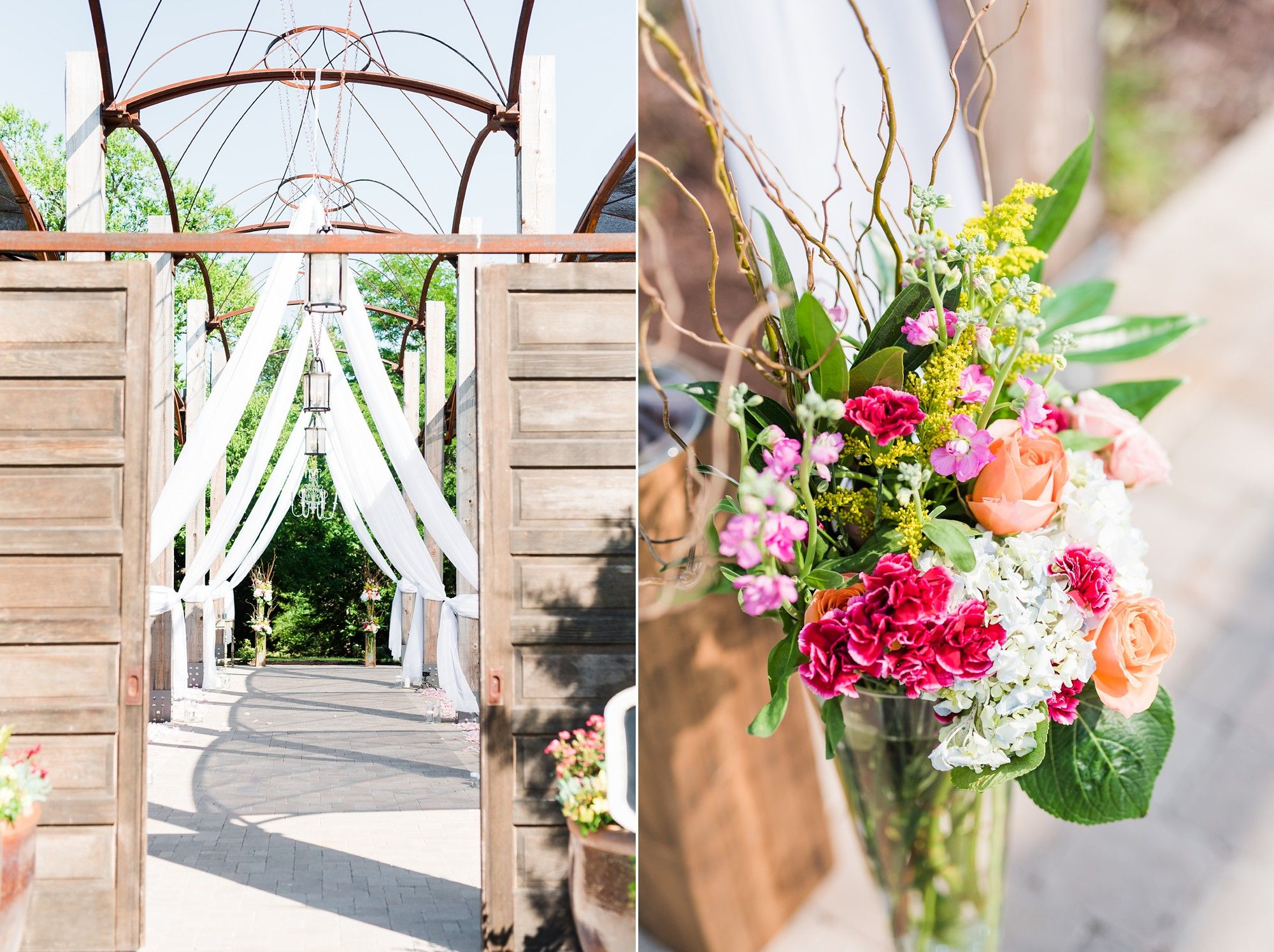Vibrant Summer Wedding at Chandler's Gardens in McKinney