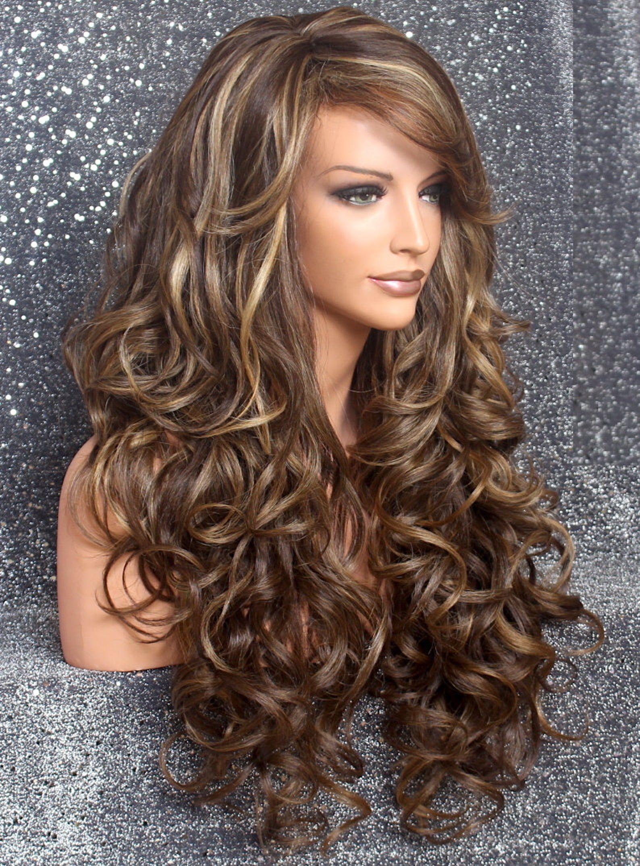 Beautiful Human hair Blend Brown Carmel And Blonde mix ...