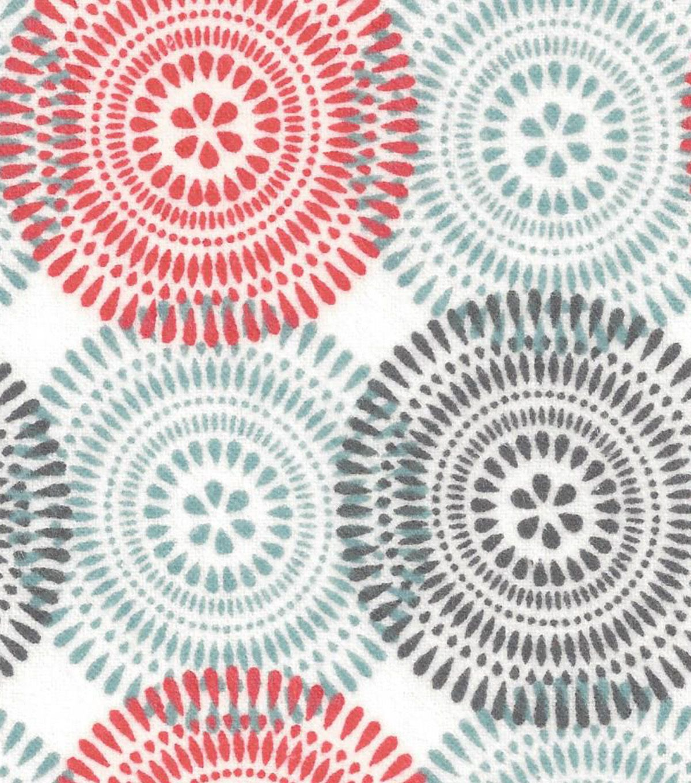 Snuggle Flannel Fabric- Fanfare SterlingSnuggle Flannel Fabric- Fanfare Sterling,