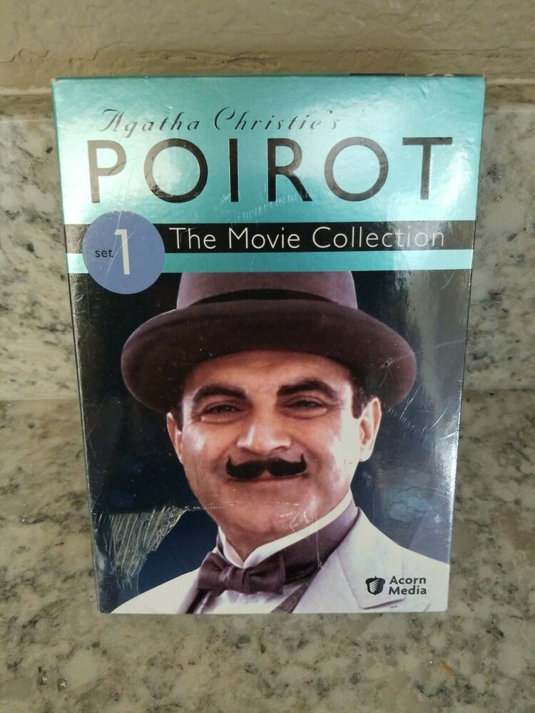 Agatha Christies Poirot The Movie Collection Set 1 Dvd 2009 3 Disc Set 54961813599 Ebay Agatha Christie S Poirot Agatha Christie Movie Collection