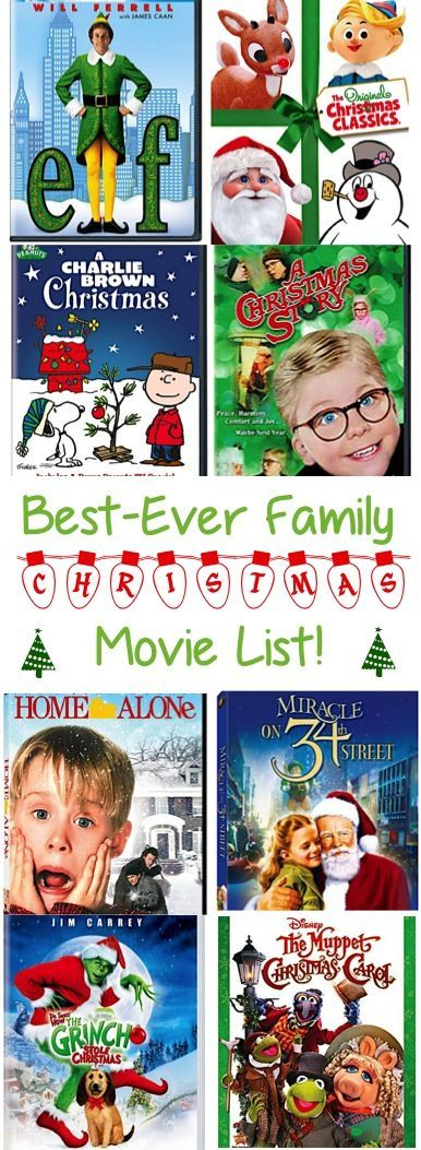 Best Christmas Movies List! ~ at TheFrugalGirls.com ~ take a break ...