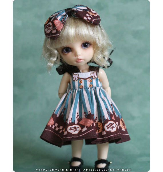 DIY Dress kit for Pukifee - Sweet sweets by candysmoothie on Etsy https://www.etsy.com/listing/200675257/diy-dress-kit-for-pukifee-sweet-sweets
