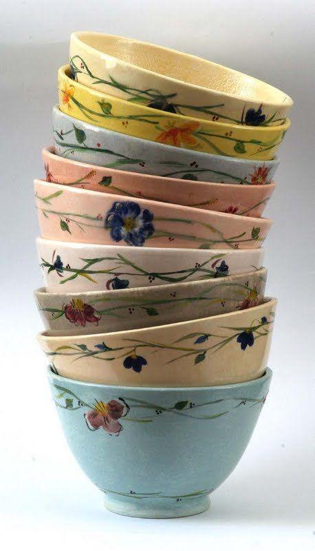 Ceramic Bowl Set, Pasta Bowl Set, Soup Bowl Set, Handmade ...