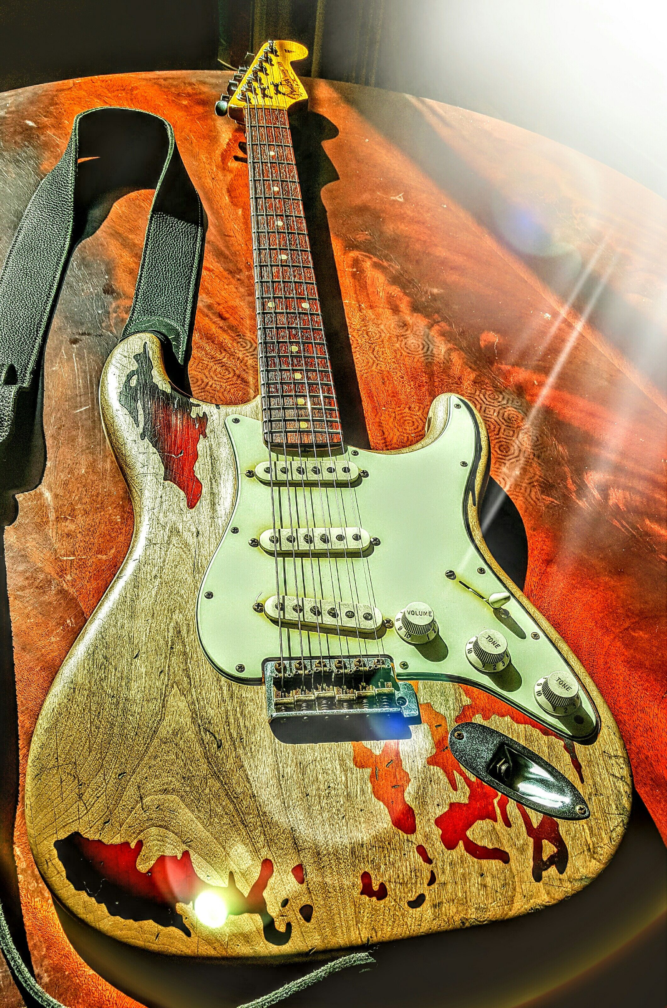 My Rory Gallagher Signature Relic 61 Stratocaster made by The Fender Custom Shop USA