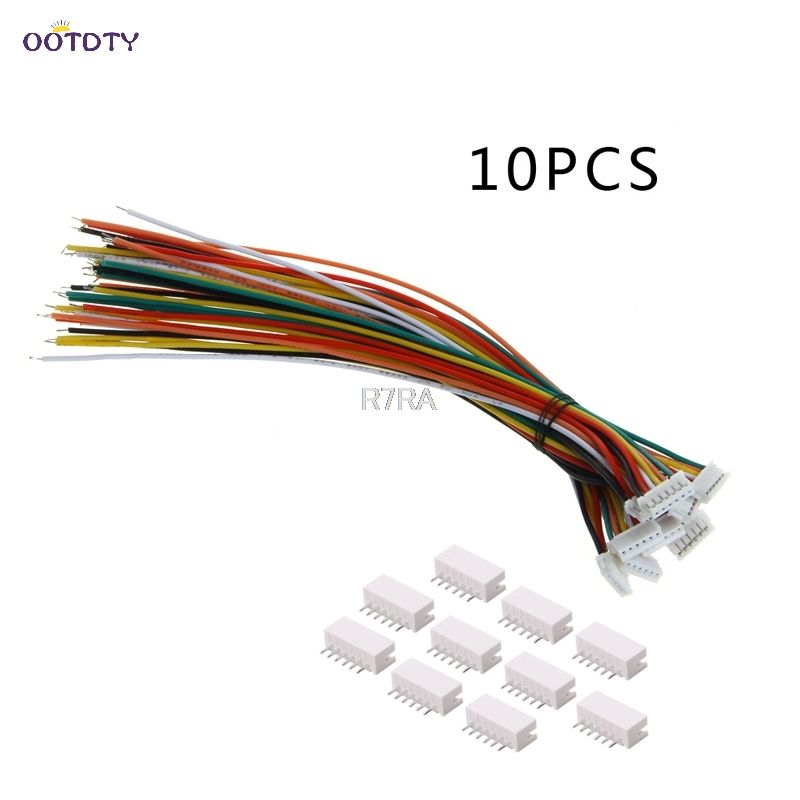 Mini Micro ZH 1.5mm 6-Pin JST Connector with Wire x 10 sets New