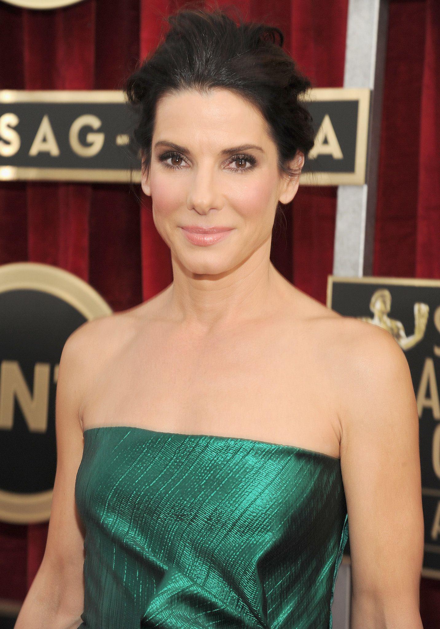 Sandra Bullock glowed at the SAG Awards.