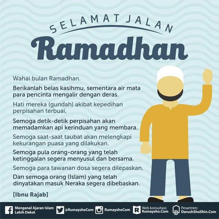 Selamat Jalan Ramadhan Dengan Gambar Motivasi Buku Bijak