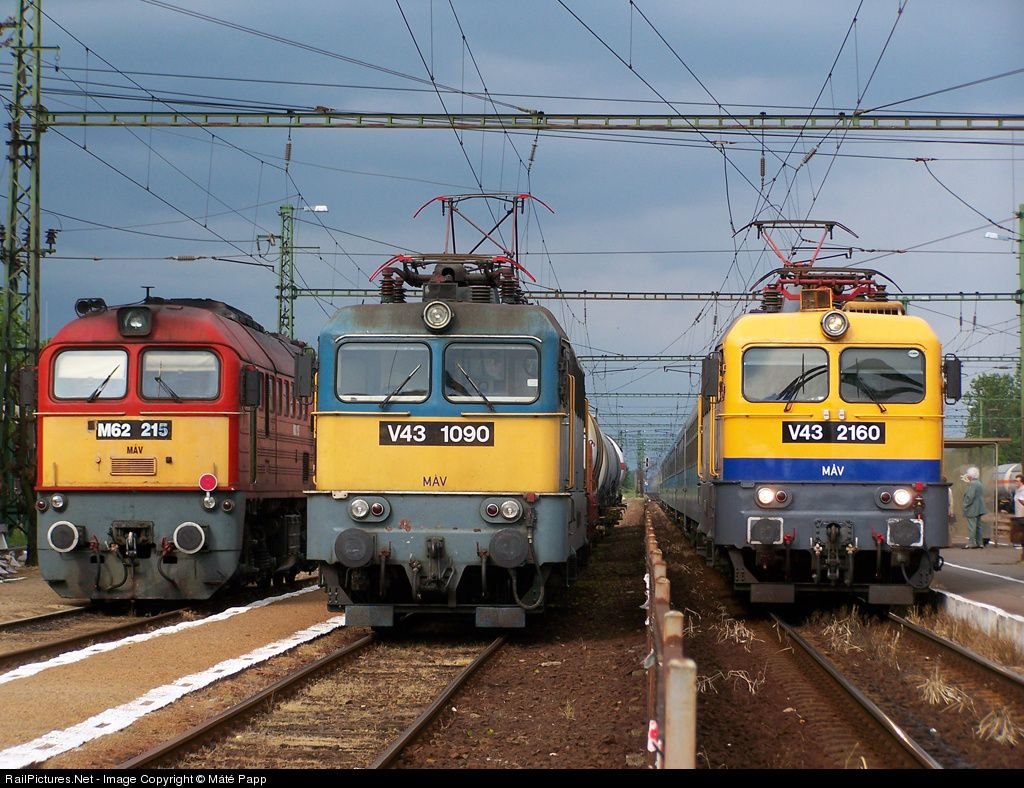 RailPictures.Net Photo: Hungarian State Railways (MÁV) M62; V43 at Hajdúszoboszló, Hungary by Máté Papp