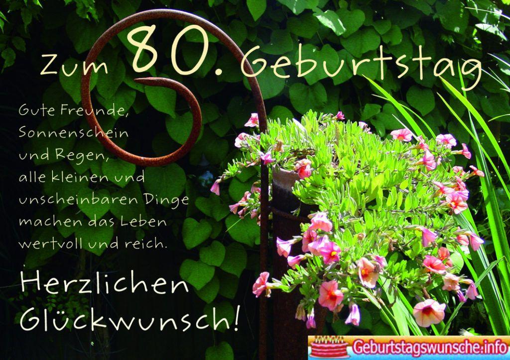 Die Besten Ideen Fur Geburtstagswunsche Zum 80 Geburtstag Plants