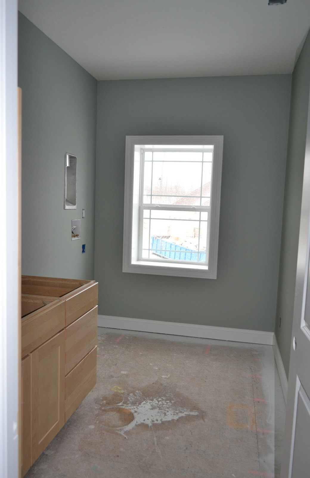 Oyster Bay Sherwin Williams Next One Down On The Strip From Comfort Gray Splash Of Paint