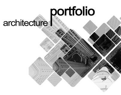Architecture Portfolio Ideas And The Glamours