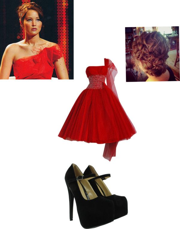 """""""hunger games"""" by maddieprater ❤ liked on Polyvore"""