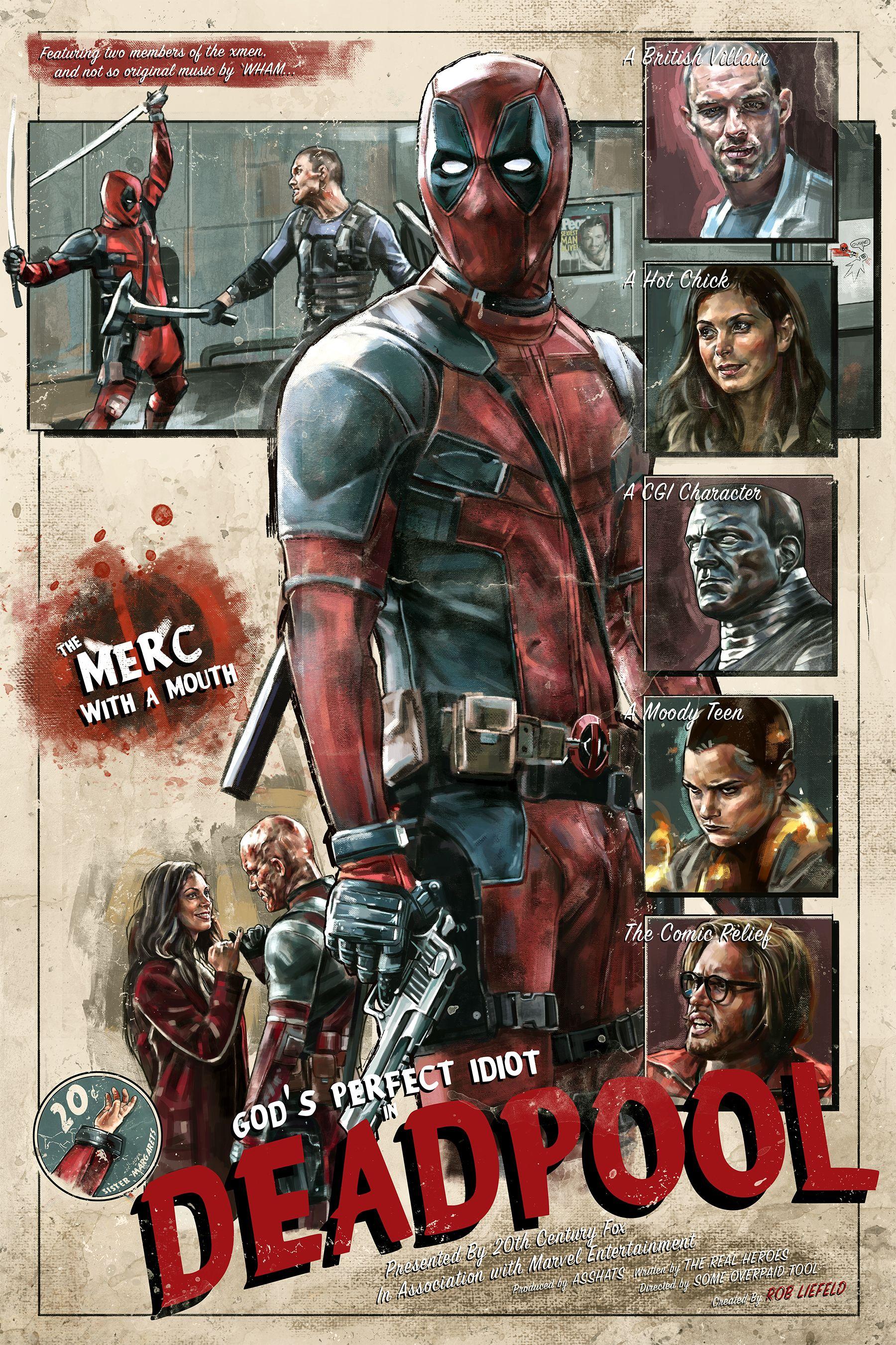 deadpool marvel movie posters marvel
