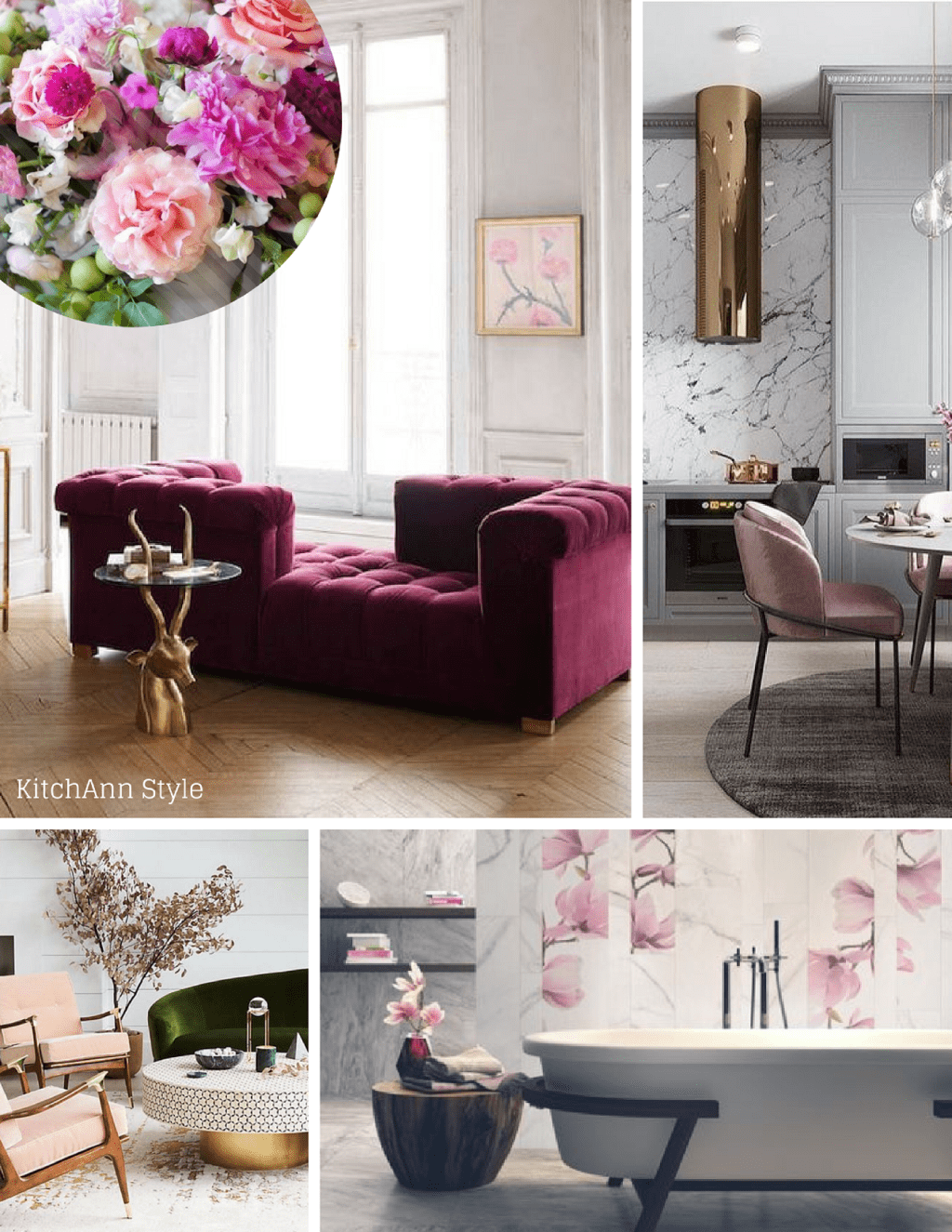 Pantoneview Home + Interiors 2019 + Cherished Mood Board by Ann ...