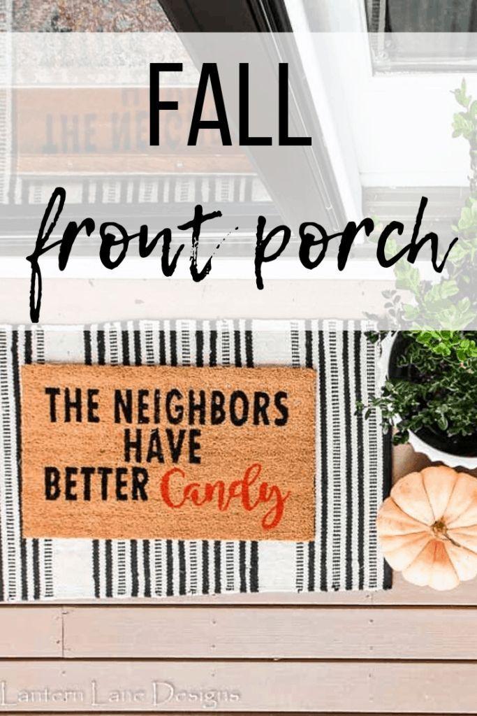 Fall Front Porch Decor Ideas - Farmhouse Style - #decor #Fall #Farmhouse #front #Ideas #Porch #Style #fallfrontporchdecor
